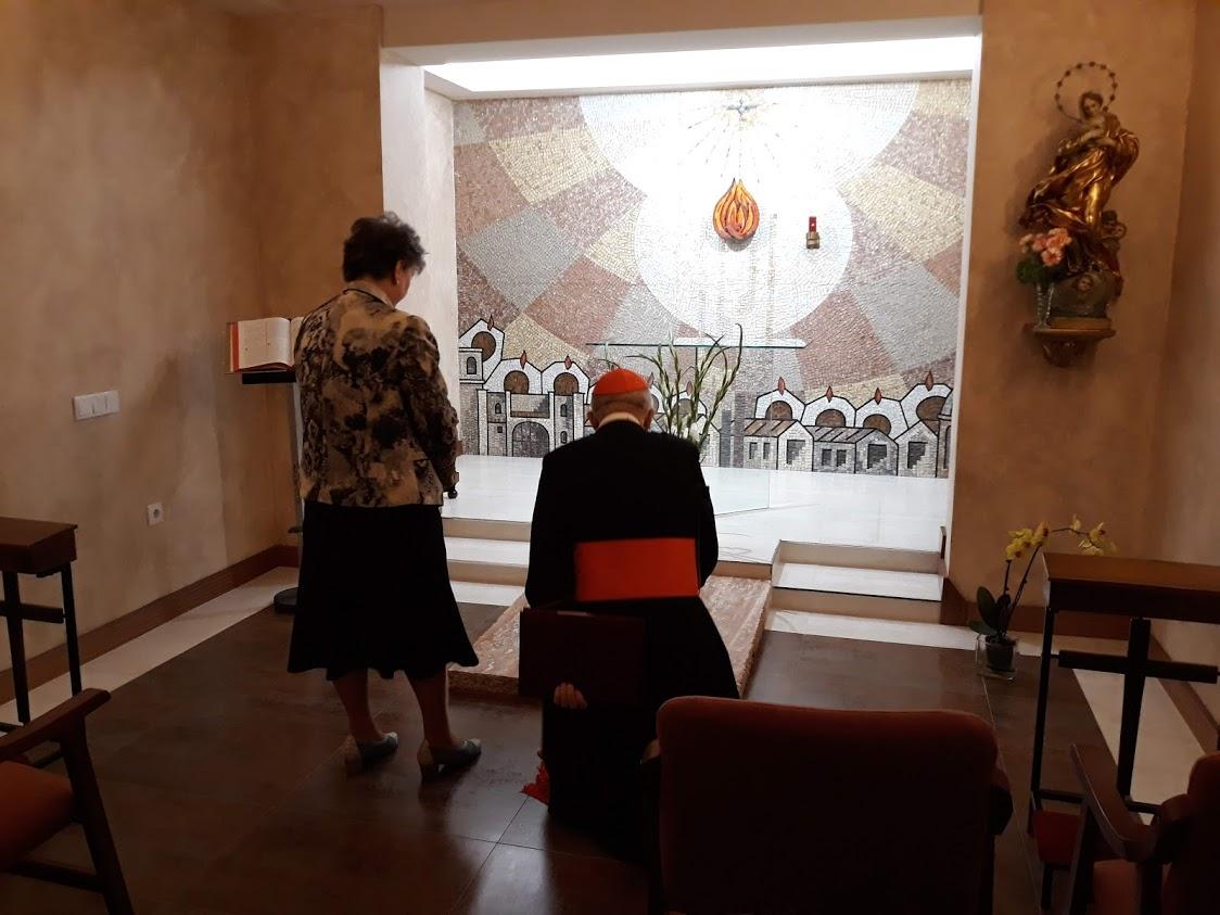 Bendición e inauguración del Cenáculo Sacerdotal «Juan Sánchez Hernández, Apóstol del Sacerdocio» por el cardenal Osoro