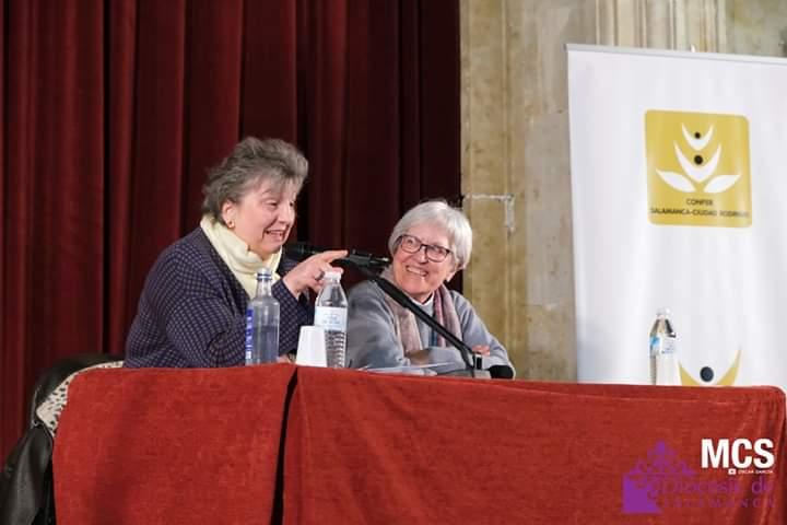 María José Castejón en las III Jornadas de Vida Consagrada en Salamanca