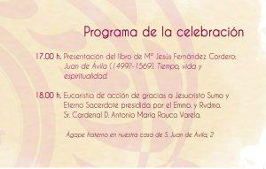 Programa celebración