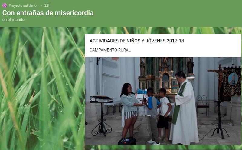 Actividades de niños y jóvenes 2018