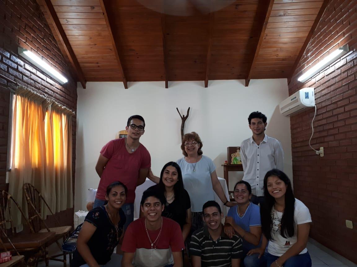 Acompañamiento a jóvenes en el Cenáculo de Formación Vocacional en Argentina