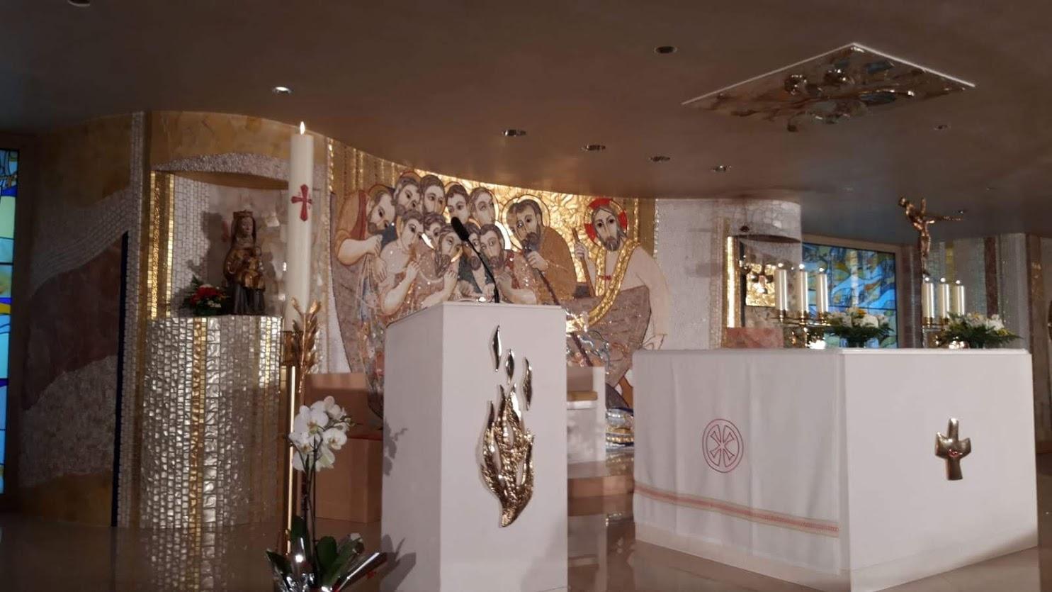 Proclamación de la Palabra en la eucaristía de TVE
